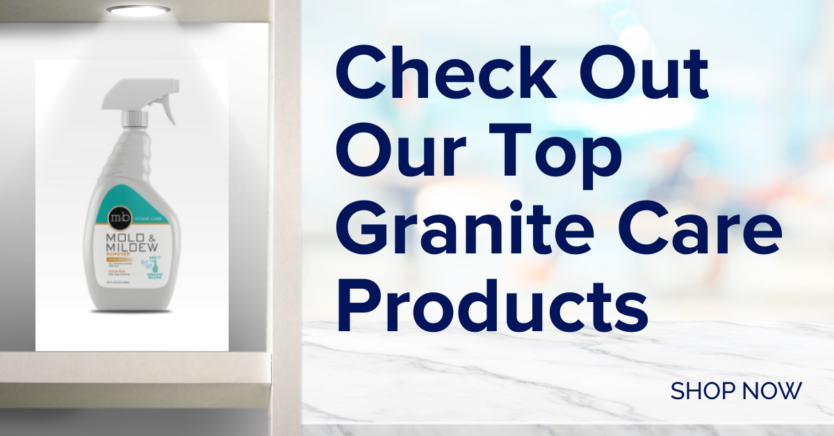 Granite care products - MB Stone Care