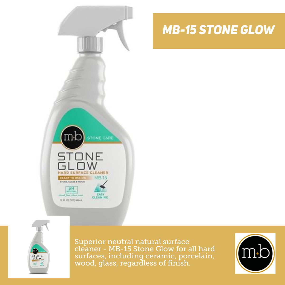 MB-15 Stone Glow - Surface Cleaner